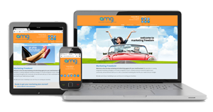 Mobile marketing responsive website design