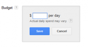 Daily Budget Settings In Adwords