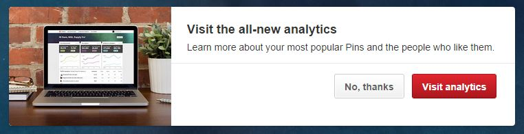 New Analytics Prompt
