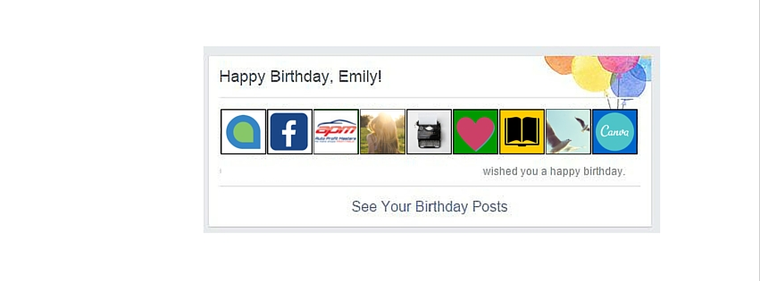 Birthday Messages On Facebook